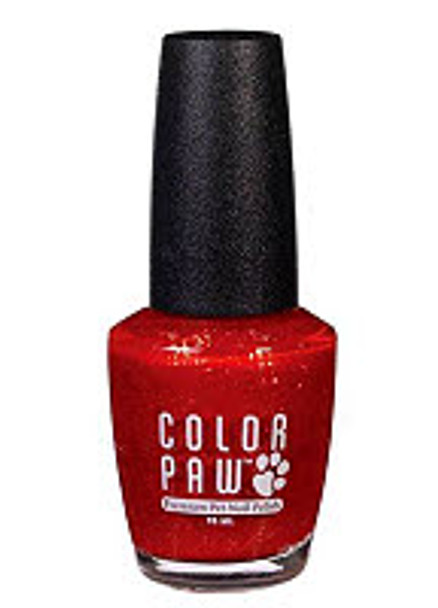 Candy Apple Red Color Paw Dog Nail Polish