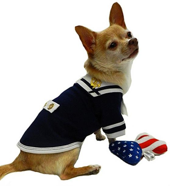 High Seas Sailor Dog Tank by Ruff Ruff Couture