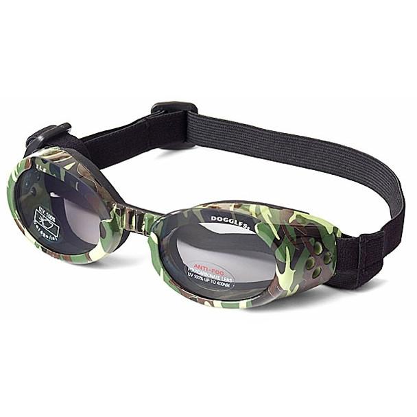 Green Camo Dog Sunglasses ILS