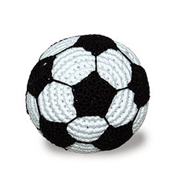 Soccer PAWer Squeaker Dog Toy