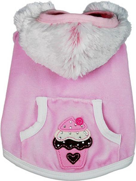 Haley Furry Hood Dog Hoodie by Ruff Ruff Couture