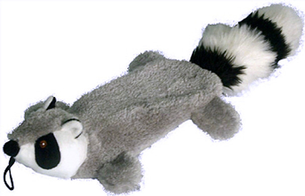 Raccoon Flat 16 inch Dog ToyRaccoon Flat 16 inch Dog Toy