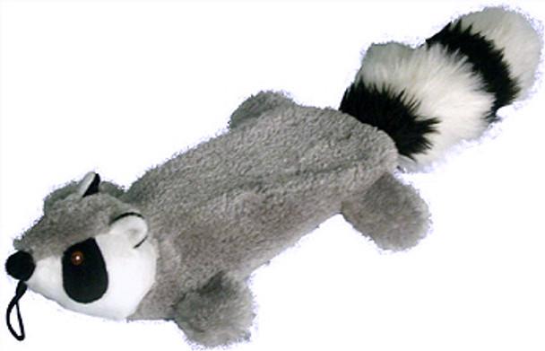 Raccoon Flat 25 inch Dog ToyRaccoon Flat 16 inch Dog Toy