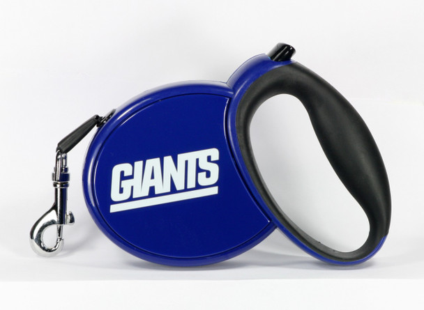NFL New York Giants Retractable Dog Leash