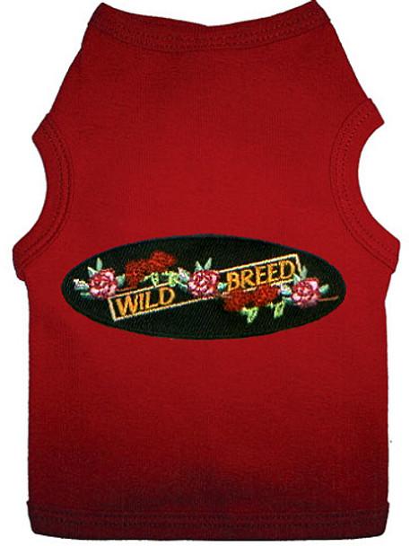 Wild Breed Patch Dog Tank T-shirt