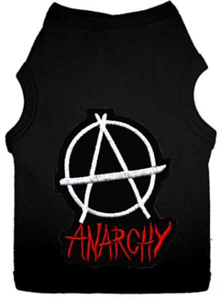 Anarchy Dog Tank T-shirt