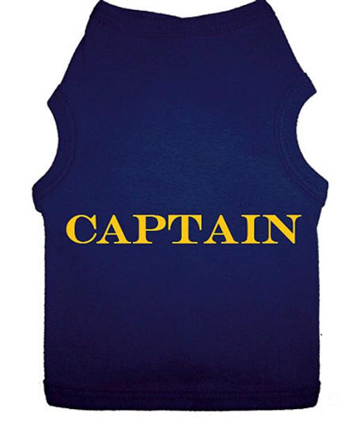 Captain Dog Tank T-shirt.