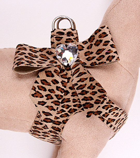 Susan Lanci Cheetah Tail Bow Step-In Harnesses