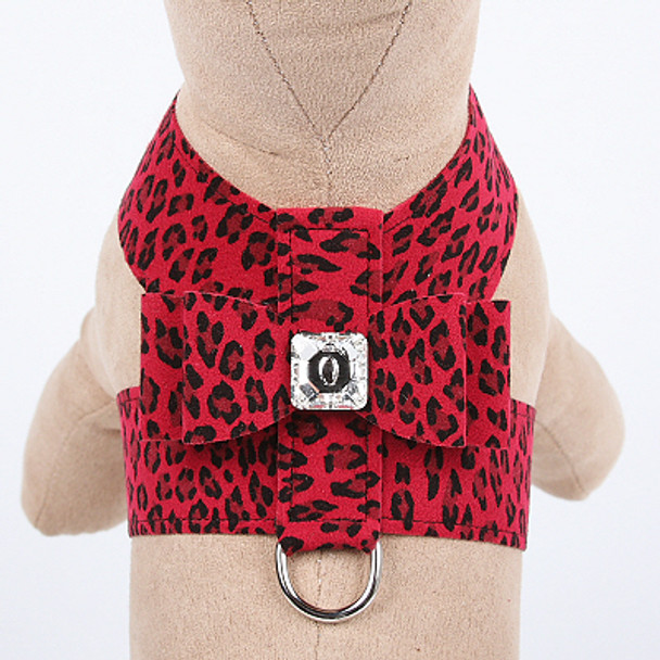 Cheetah Couture Collection Big Bow Tinkie Dog Harness