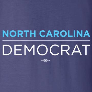 North Carolina Democrat (Navy Long-Sleeve Tee)