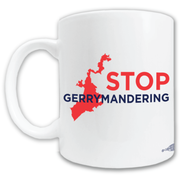 Stop Gerrymandering (11oz. Coffee Mug)