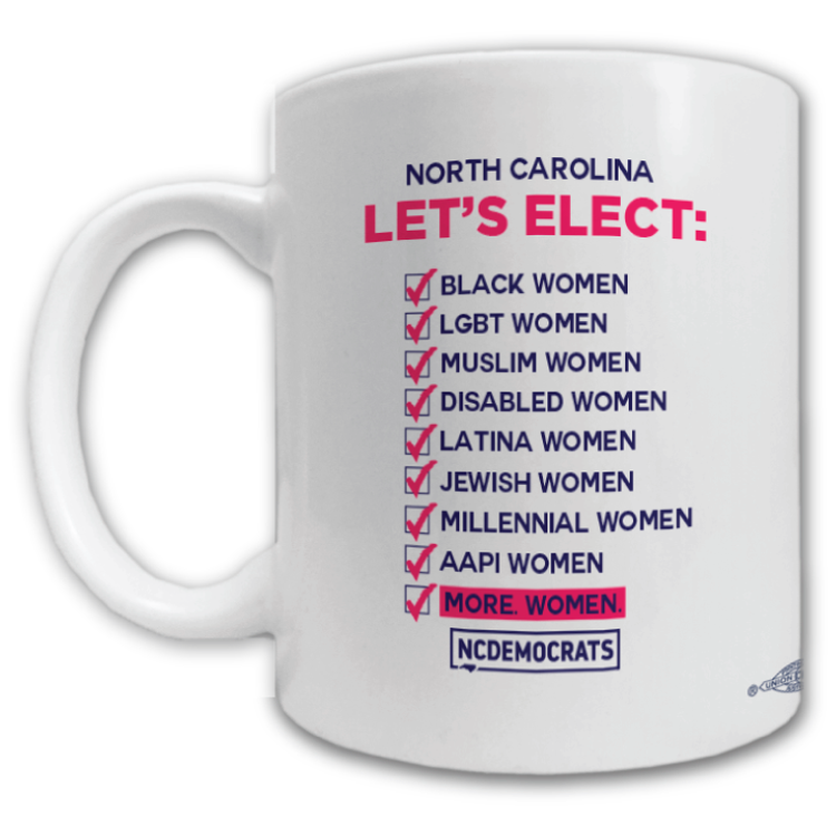 Let's Elect Graphic  (11oz. Coffee Mug)