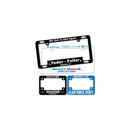 Reflective Tape License Plate Frames