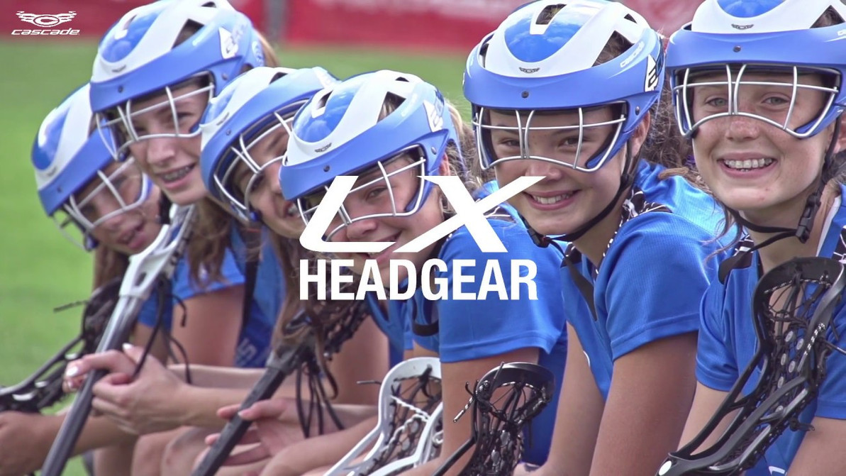 Women's Lacrosse Headgear brings new Confidence and Protection to the game.