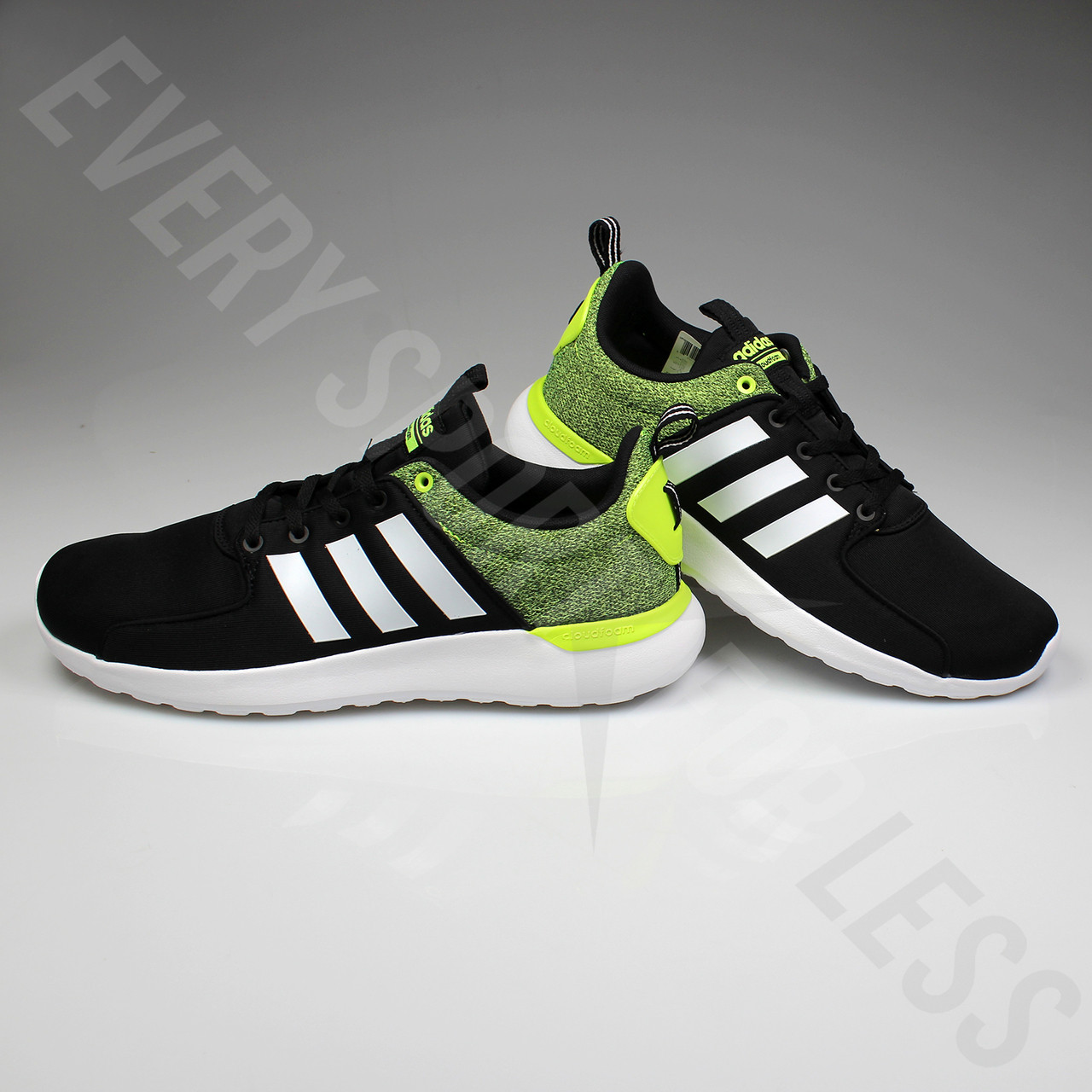 adidas men's cloudfoam lite racer black