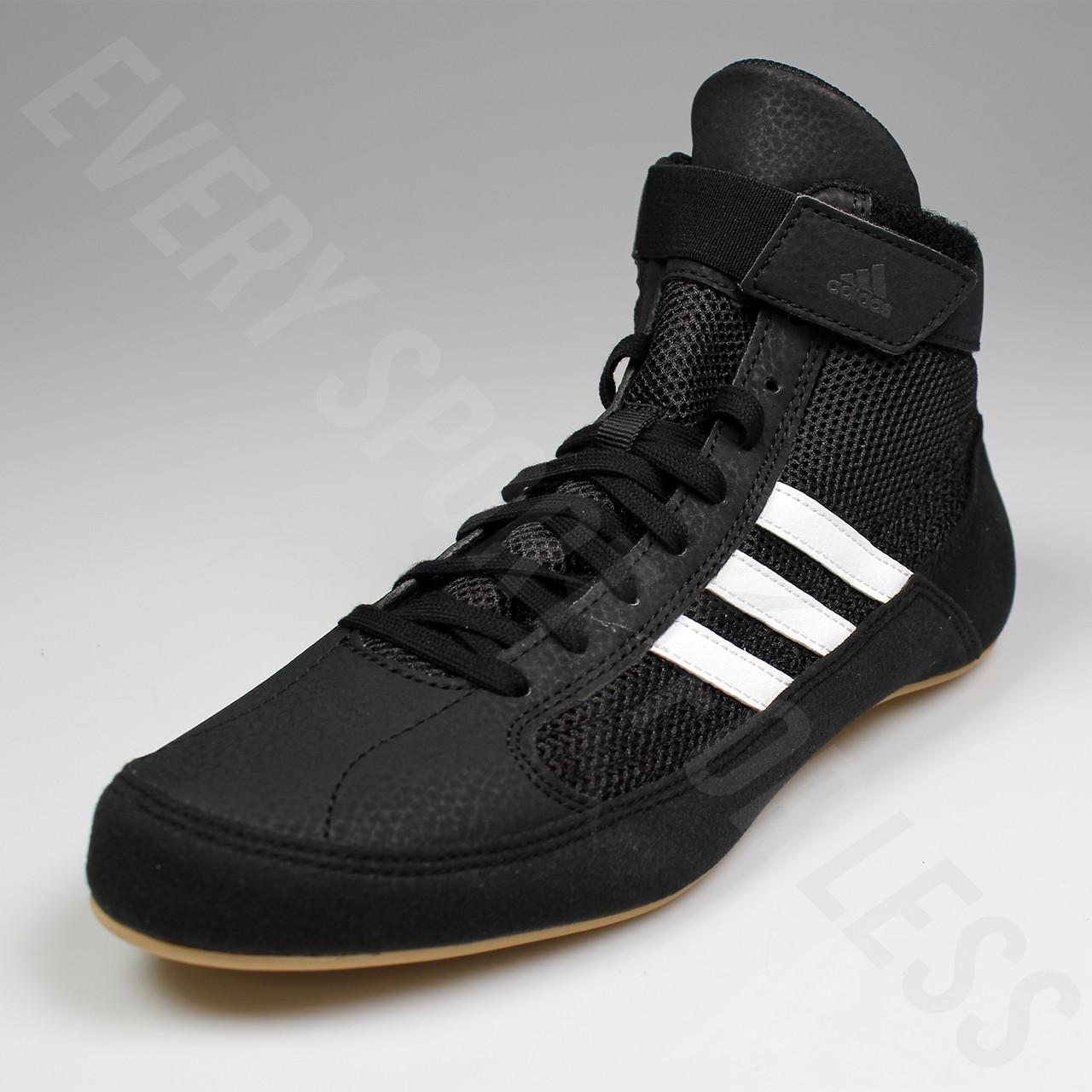 20106f6b97fd6a ... low price adidas hvc 2 youth wrestling shoes aq3327 black white 06022  19bb7