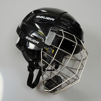 Bauer Hockey RE-AKT 75 Helmet with Cage - Black