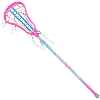 Brine Pixie 2 Complete Girl's Complete Lacrosse Stick - Pink/Blue