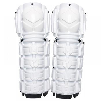 Mylec Street Hockey Shin Pads  - White