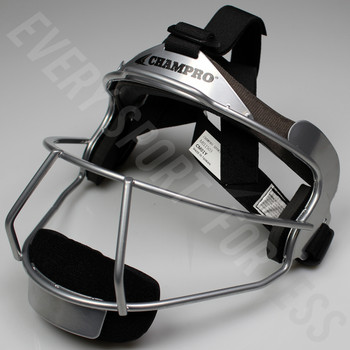 Champro The Grill Softball Fielders Mask Youth - Silver