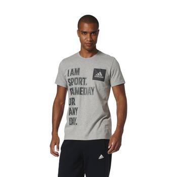 Adidas I AM SPORT Men's Tee Shirt - Grey