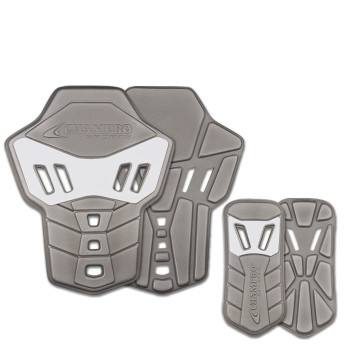Champro Infinity Football Two Slot Hip and Tail Pads - Grey