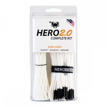 East Coast Dyes Hero 2.0 Semi-Hard Complete Lacrosse Stringing Kit