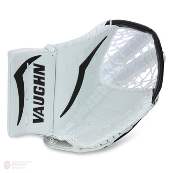 Vaughn V7 T XF Youth Hockey Goalie Catch Glove - White/Black