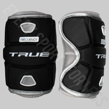 True Frequency Men's Lacrosse Elbow Pads - Black
