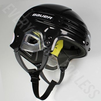 Bauer Re-Akt 75 Senior Ice Hockey Helmet - Black
