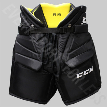 CCM Premier R1.9 Senior Hockey Goalie Protective Pants HPGR1.9 - Black