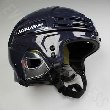 Bauer Re-AKT 75 Senior Ice Hockey Helmet - Navy Blue