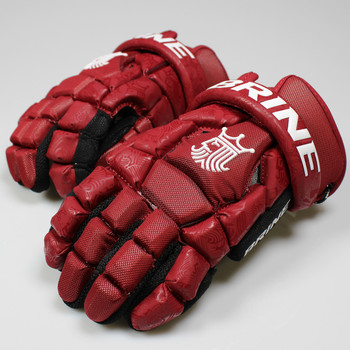 Brine King Superlight 2 Lacrosse Gloves - Maroon
