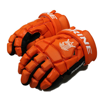 Brine King Superlight 2 Lacrosse Gloves - Orange