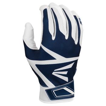 Easton Z3 Hyperskin Senior Baseball / Softball Batting Gloves - Navy