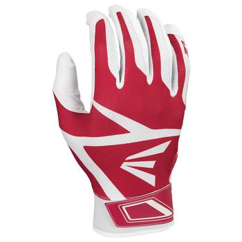 Easton Z3 Hyperskin Senior Baseball / Softball Batting Gloves - Red