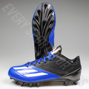 Adidas 5-Star low Mens Football / Lacrosse Cleats AQ8786 - Black / Blue