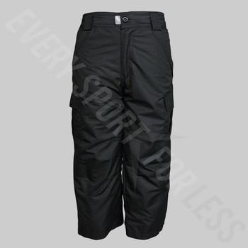 Pulse Junior Youth Cargo Snowboard Pant - Black
