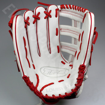 "Louisville Slugger TPS 13.5"" Slowpitch Softball Glove - Left Hand Throw"