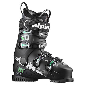 Alpina Elite 80 Heated Ski Boot - Black