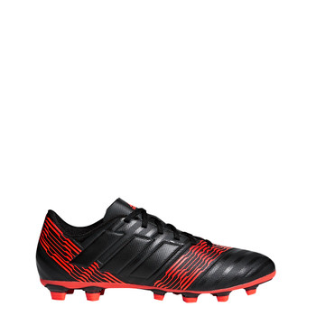 Adidas Nemeziz 17.4 FG Mens Soccer Cleats CP9006 - Black, Red