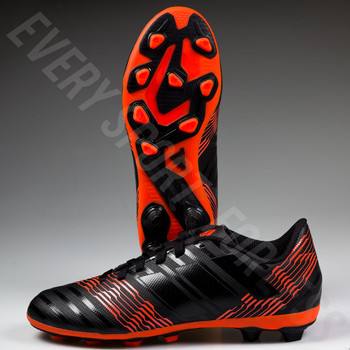 Adidas Nemeziz 17.4 FG Youth Soccer Cleats CP9206 - Black, Red