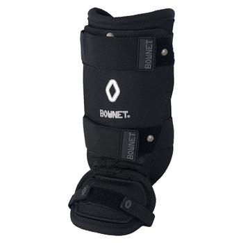 Bownet Adult Baseball / Softball Ankle Guard - Black