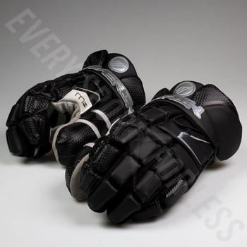 Maverik M4 Senior Lacrosse Goalie Gloves - Black