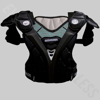 Maverik RX Lacrosse Shoulder Pads - Black, Gray