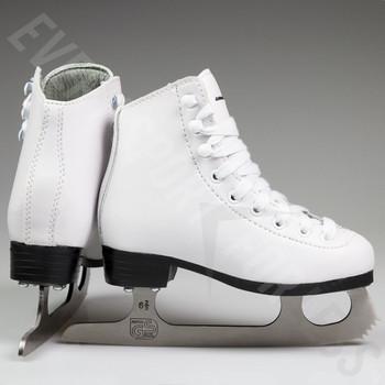 Winnwell Youth Figure Skates - White