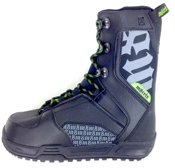 Erik Sports Matrix 580 Junior Snowboard Boots - Black, Green