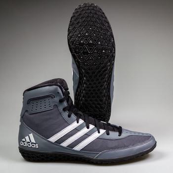 Adidas Mat Wizard 3 Senior Wrestling Shoes AQ5647 - Grey, Black, White