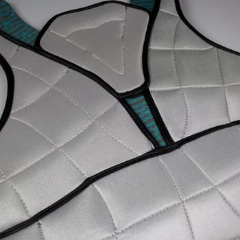 Maverik RX Goalie Chest Pad - Black/Grey