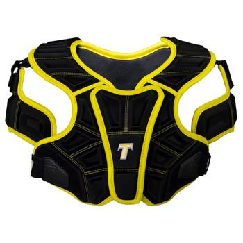 Tron LX Tron Pro Adult Lacrosse Shoulder Pads - Black, Gold